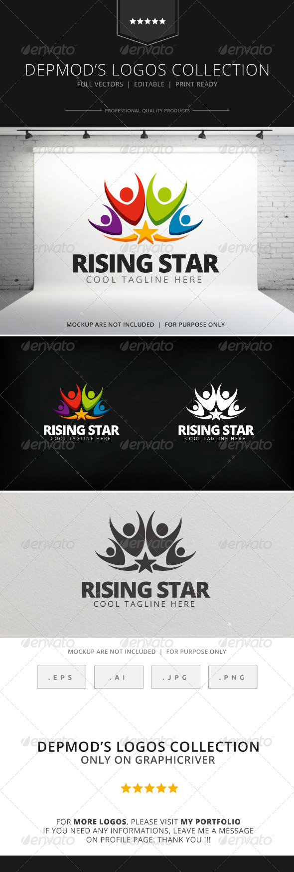 GraphicRiver Rising Star Logo 7763313