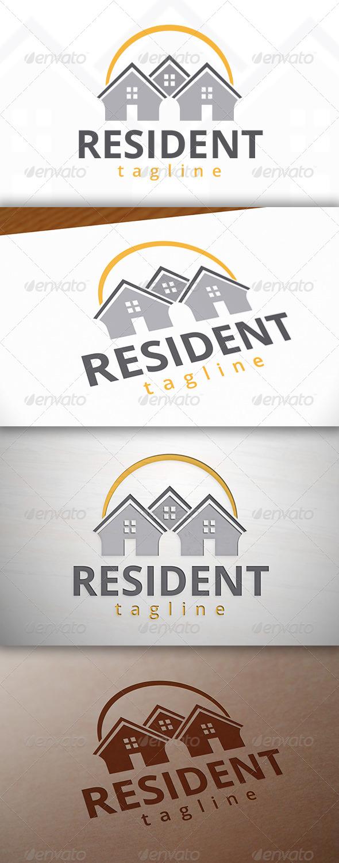 GraphicRiver Resident Logo 7763475