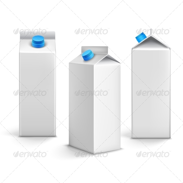 GraphicRiver Juice Packages 3D 7763547
