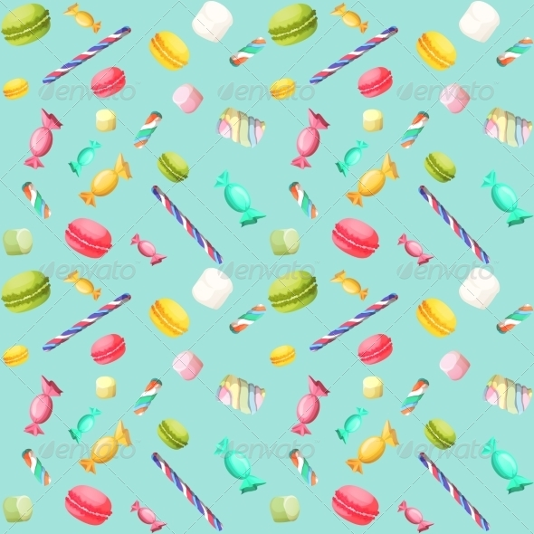 GraphicRiver Candy Pattern 7763574