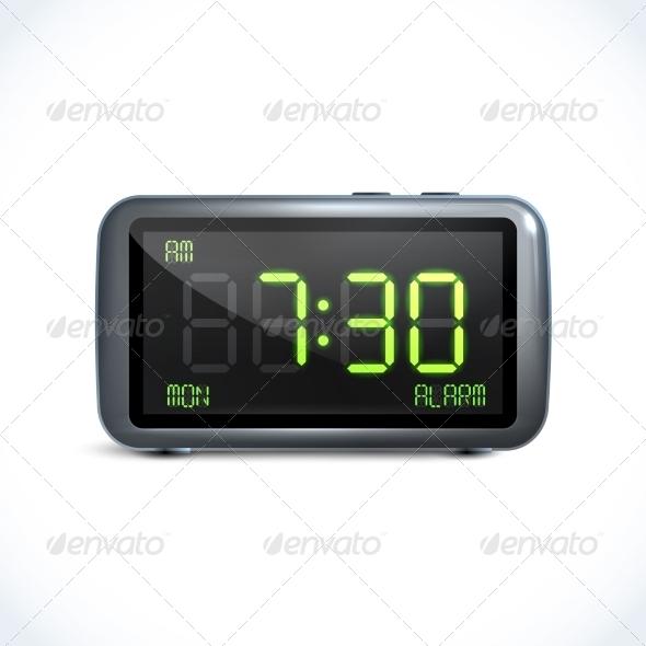 GraphicRiver Digital Alarm Clock 7763629