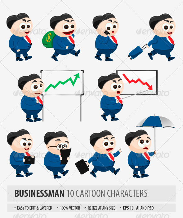 GraphicRiver Business Man 7763788