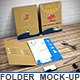 File Folder Mockup / Document Folder Mock-Up - GraphicRiver Item for Sale