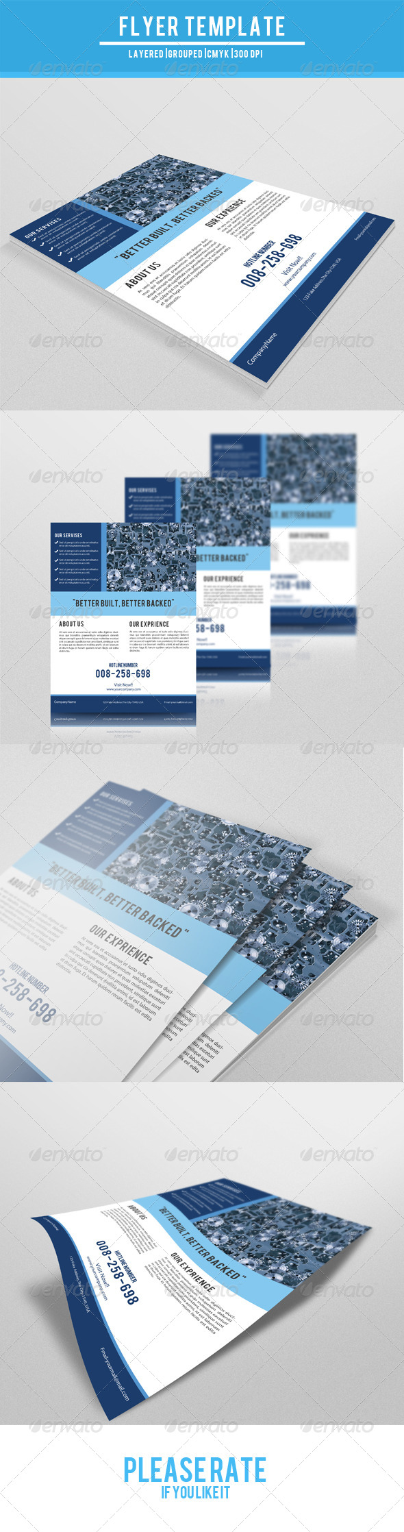GraphicRiver Real Estate Flyer Template-V09 7764234