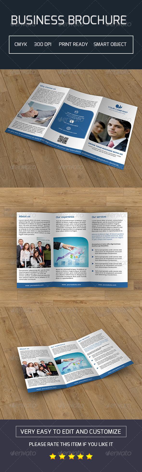 Trifold Business Brochure-V04
