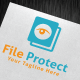 File Protect Logo Template - GraphicRiver Item for Sale