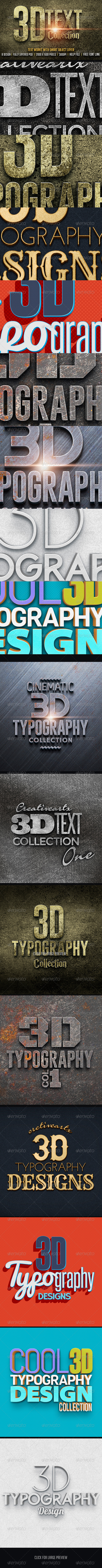 GraphicRiver 3D Text Col 1 7764529