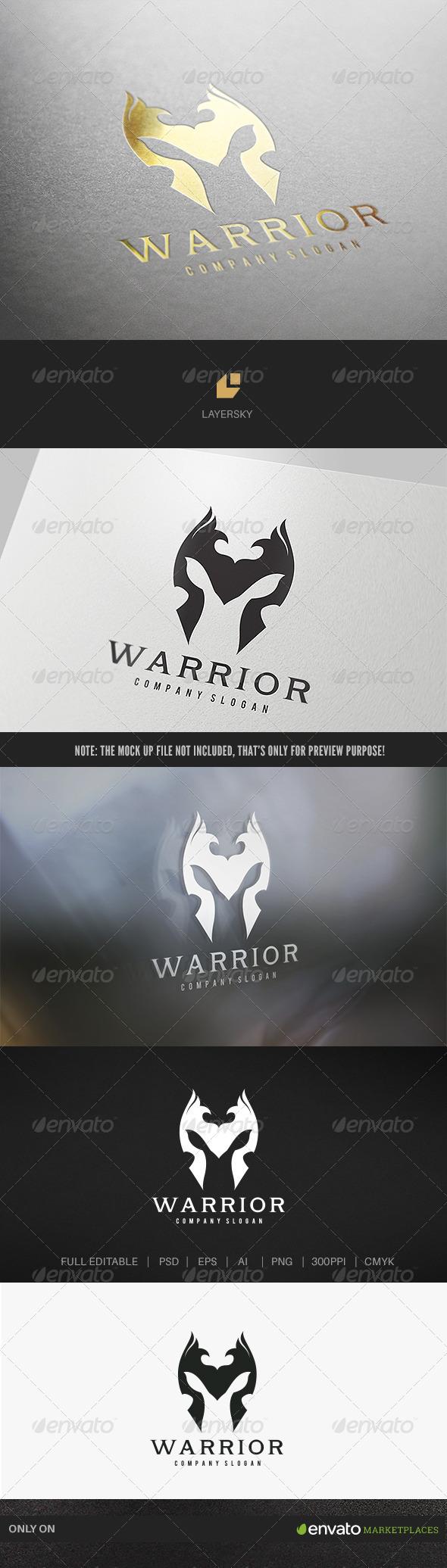 GraphicRiver Warrior Logo 7764566