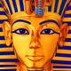 Casino slot icon of Egypt pharaoh Tutankhamun - GraphicRiver Item for Sale