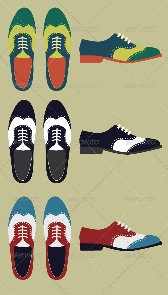 GraphicRiver Vintage Shoes 7749704