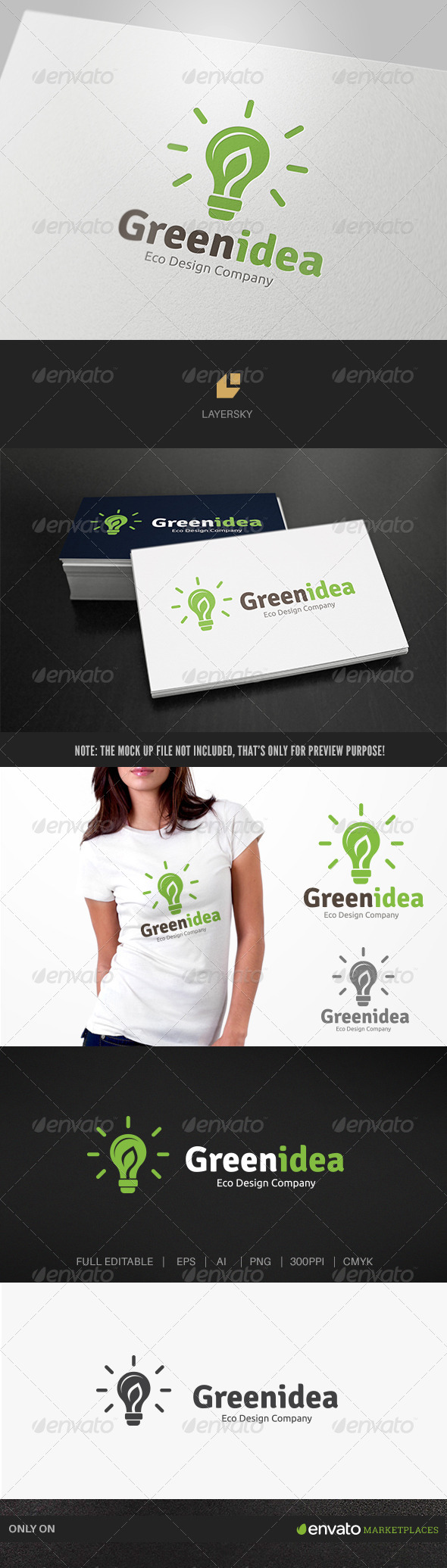 GraphicRiver Green Idea 7764944