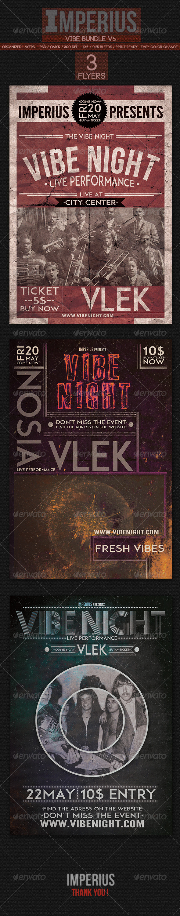 Vibe Bundle V5 - Events Flyers