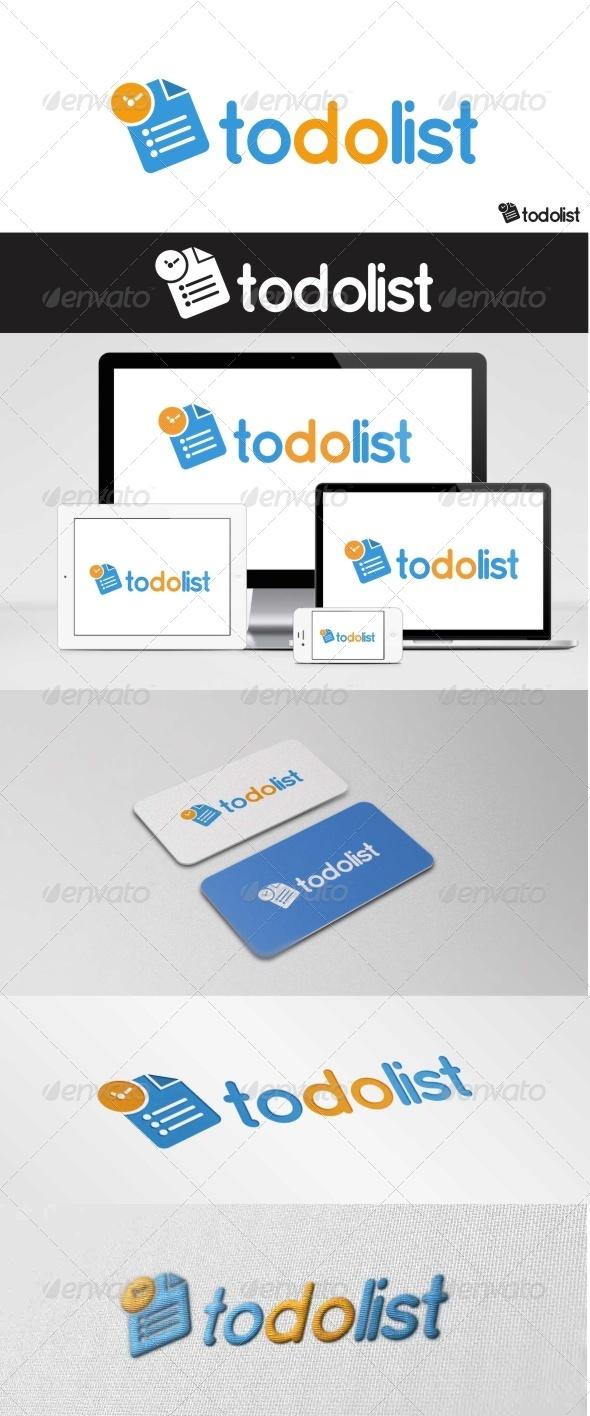 GraphicRiver To Do List Logo 7765604