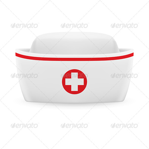 GraphicRiver Nurse Cap 7765646