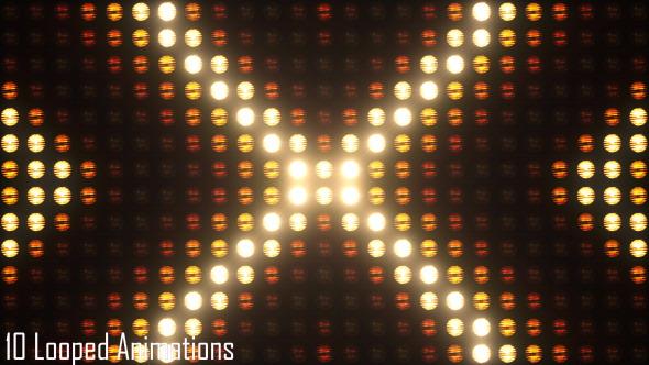 Blinking lights vj pack 1 worldwideclipsnet for Lamp light blinking on jvc