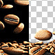 Closeup Of Coffee Beans Falling - VideoHive Item for Sale