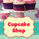 TriFold Cupcakes Menu - GraphicRiver Item for Sale