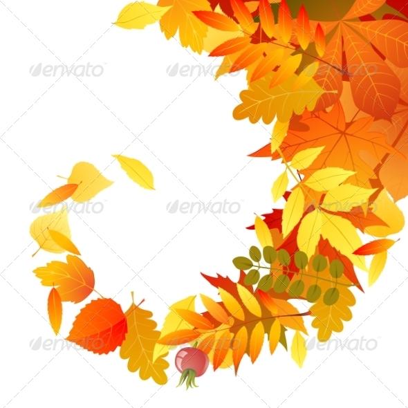 GraphicRiver Autumn Background 7766042