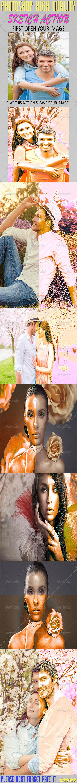 GraphicRiver Photoshop Sketch Action 7766049
