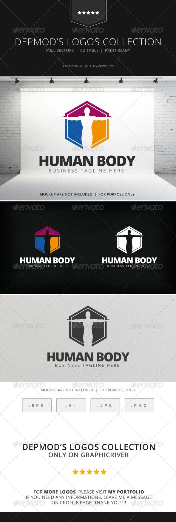 GraphicRiver Human Body Logo 7766050