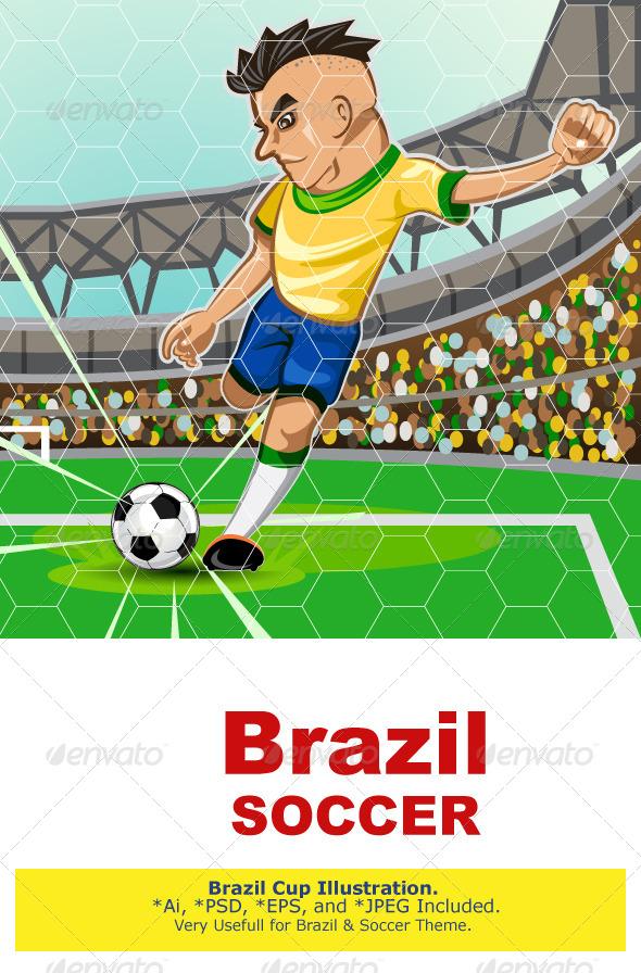 GraphicRiver BRAZIL SOCCER 7766675