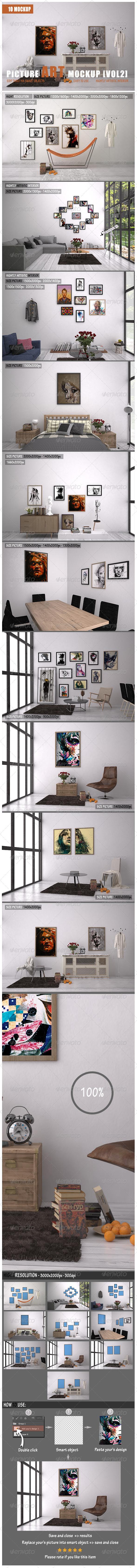 GraphicRiver Picture Art Mockup [Vol 2] 7766733