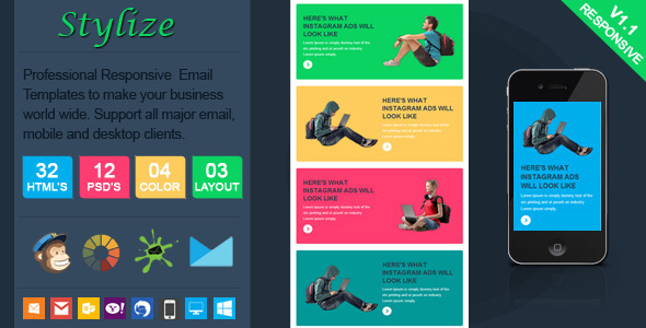 ThemeForest Stylize Stylish Responsive Email Template 7699362