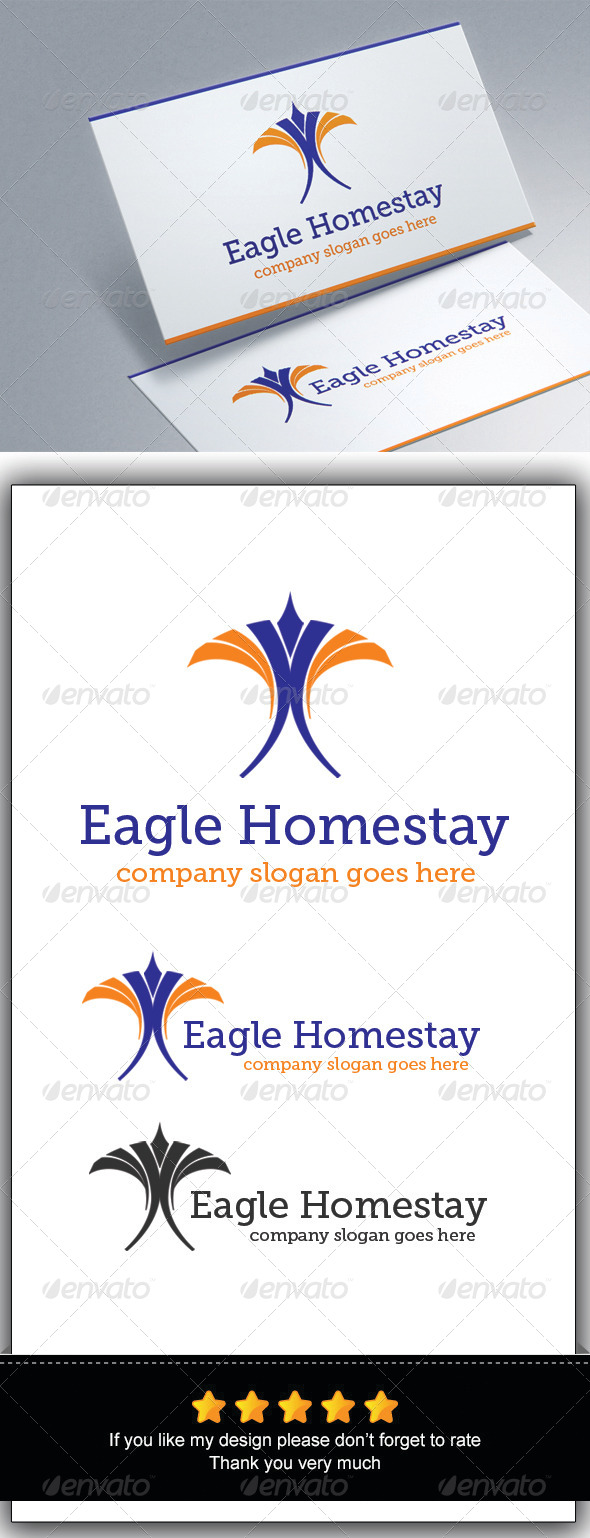 GraphicRiver Eagle Homestay 7767666