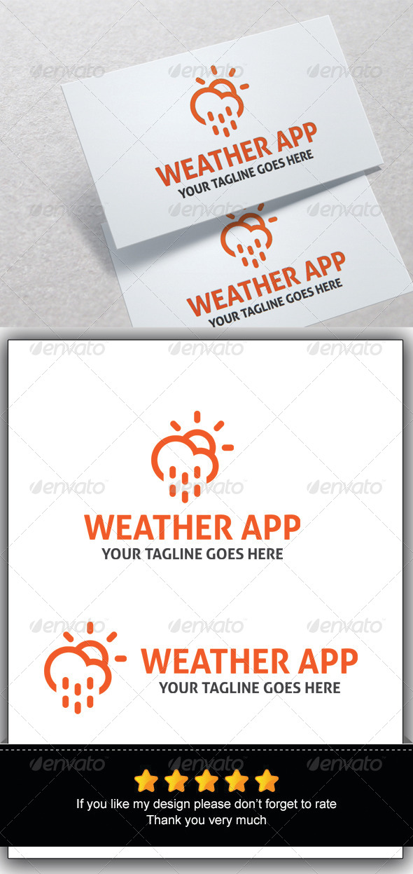 GraphicRiver Weather App 7767707