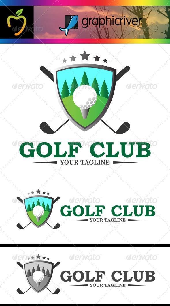 GraphicRiver Golf Club Logo 7767772