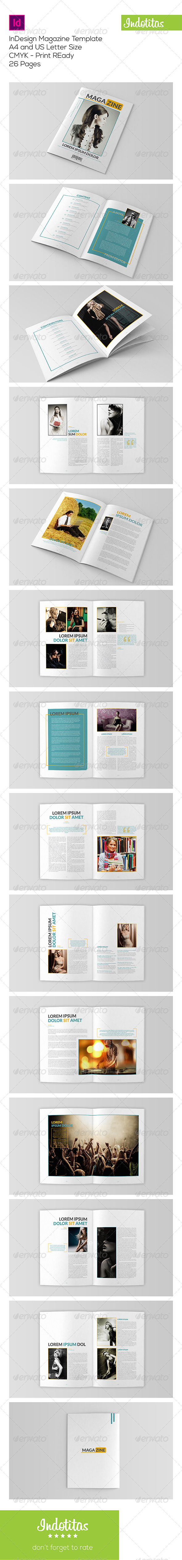 GraphicRiver InDesign Magazine Template 7767842
