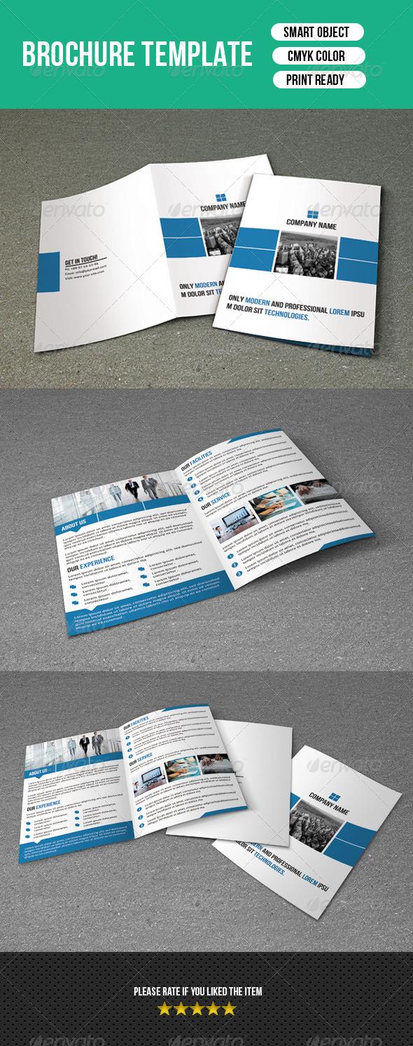 GraphicRiver Bifold Business Brochure-V02 7767907