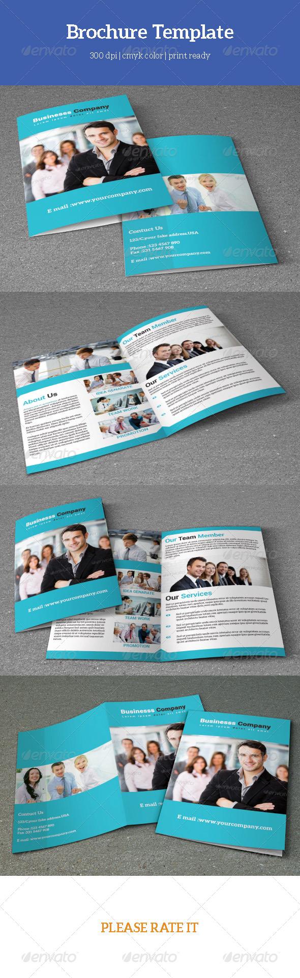 GraphicRiver Corporate Bifold Brochure-V05 7767944