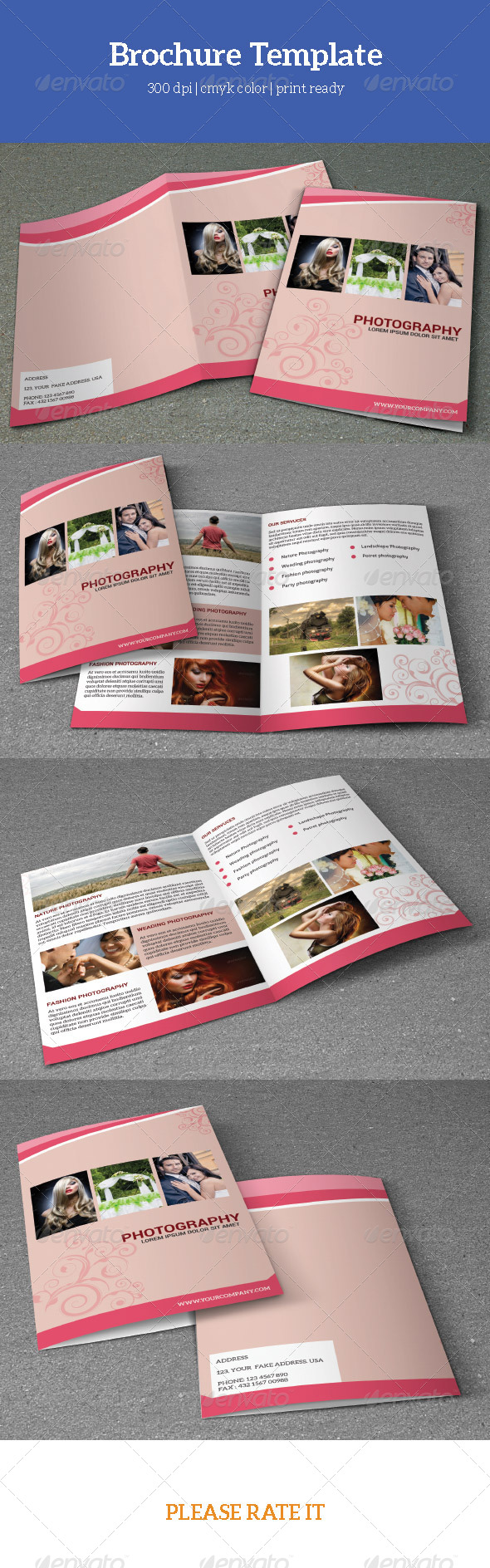 GraphicRiver Photographer Bifold Brochure-V06 7767969