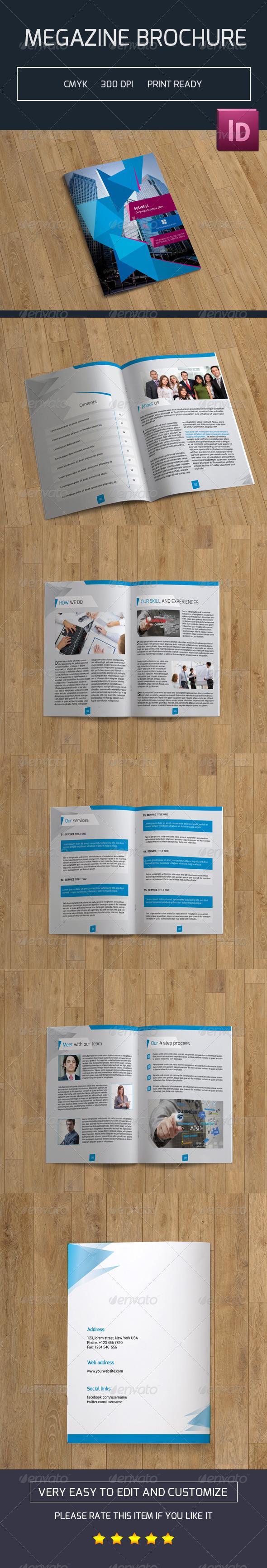 GraphicRiver Corporate Bifold Brochure-V03 7768860