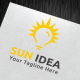 Sun Idea Logo Template - GraphicRiver Item for Sale