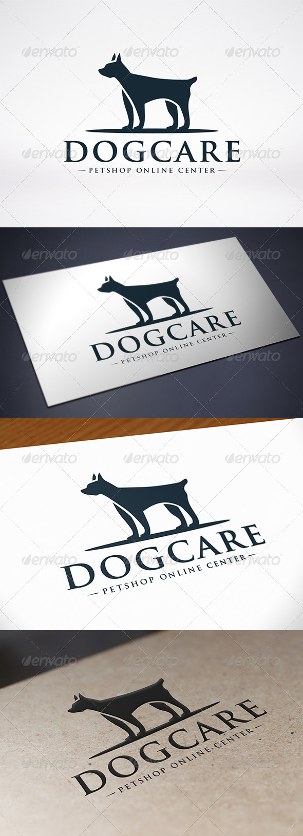 GraphicRiver Dog Logo Design 7769375