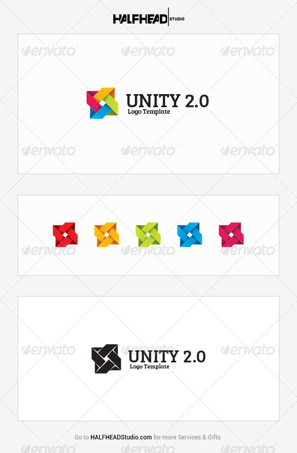 GraphicRiver Unity 2.0 Logo Template 7769677