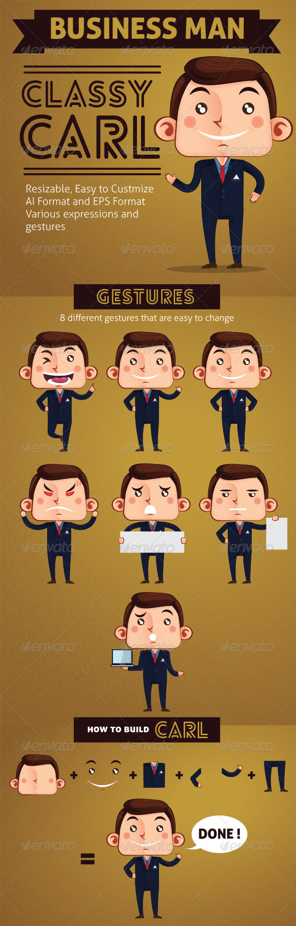GraphicRiver Business Man Classy Carl 7770137