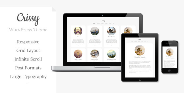 Crissy - Responsive WordPress Theme - Blog / Magazine WordPress
