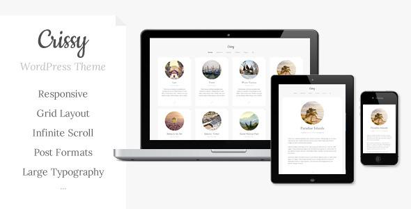 Crissy - Responsive WordPress Theme - Blog / Magazine WordPress