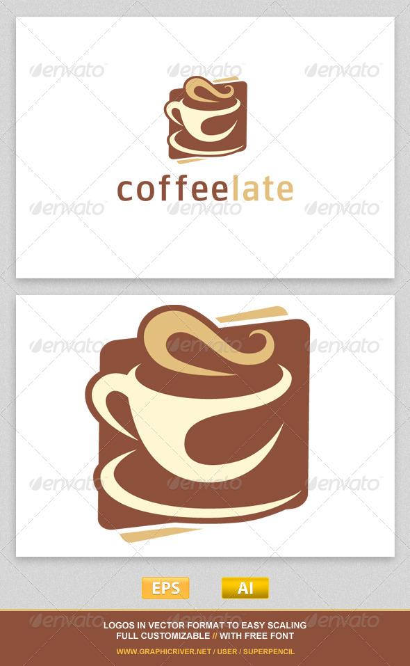 GraphicRiver Coffeelate Logo Template 7770964
