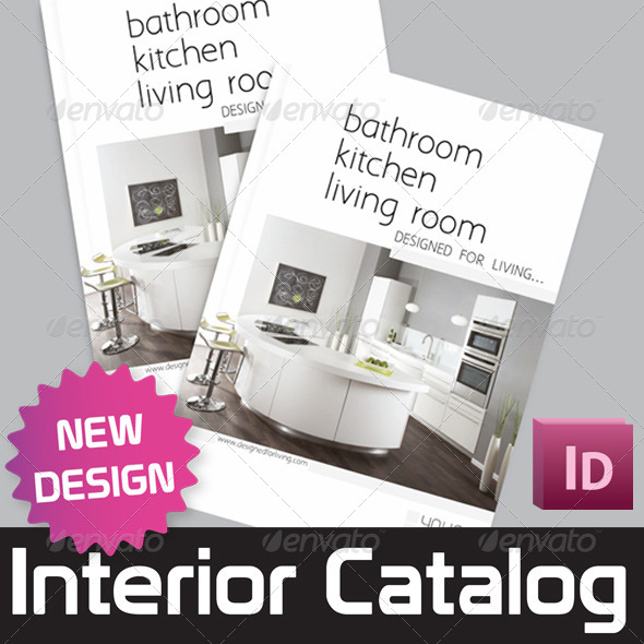 GraphicRiver Interior Catalog Template 7747289