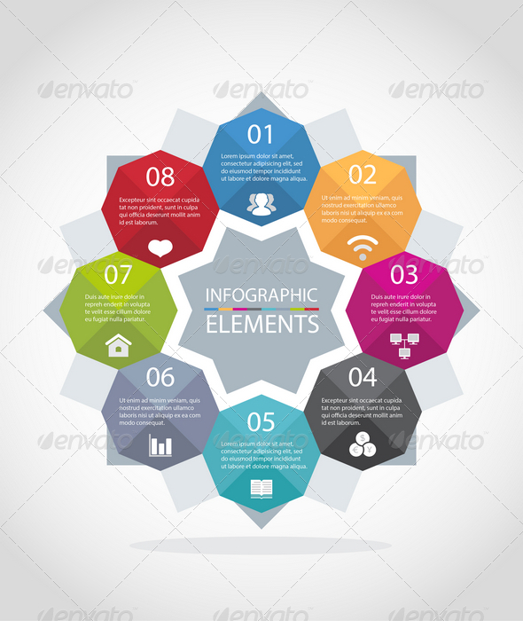 GraphicRiver Infographic Elements 7733612
