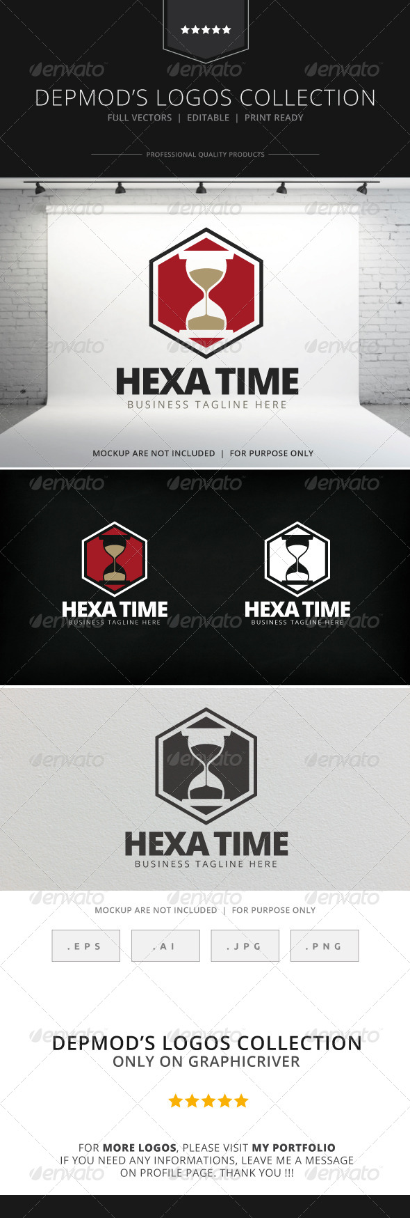 GraphicRiver Hexa Time Logo 7771680