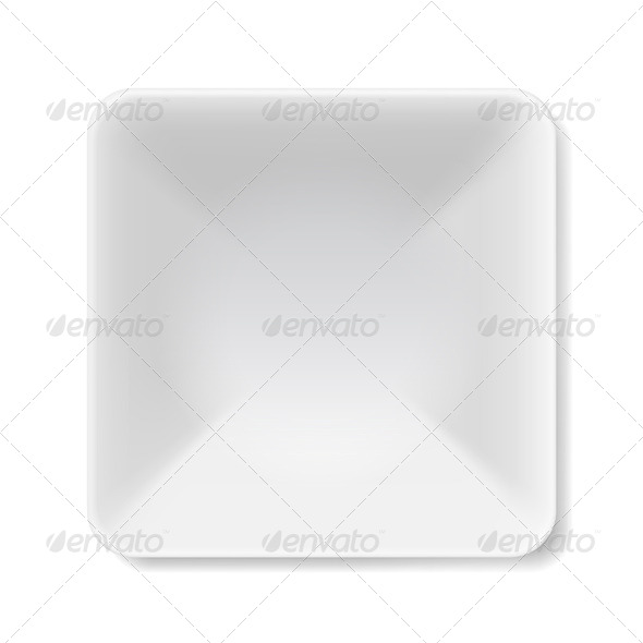 GraphicRiver White Plate 7771689