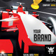 Sport Racing Flyer Event - GraphicRiver Item for Sale