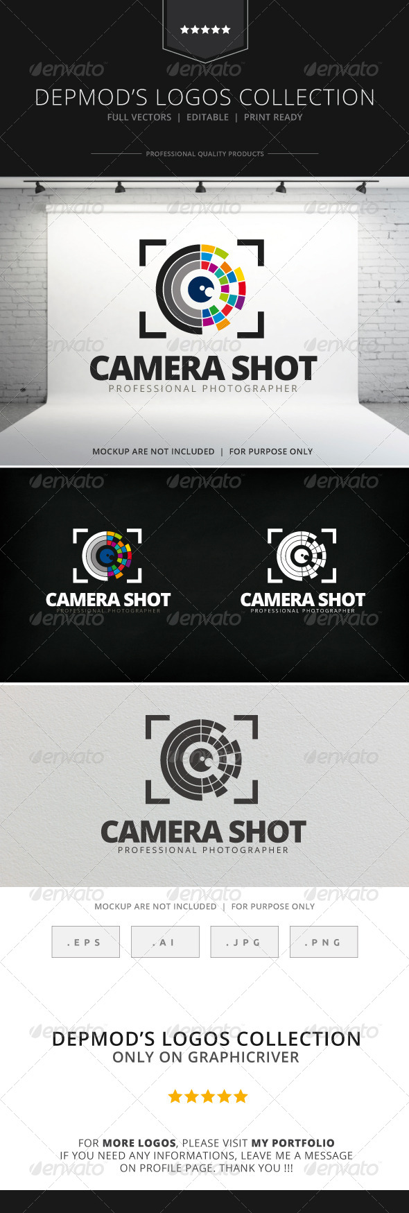 GraphicRiver Camera Shot Logo 7771825