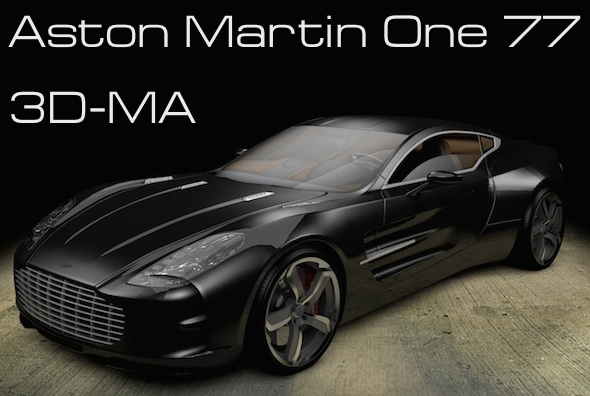 3DOcean Aston Martin One 77 7771843