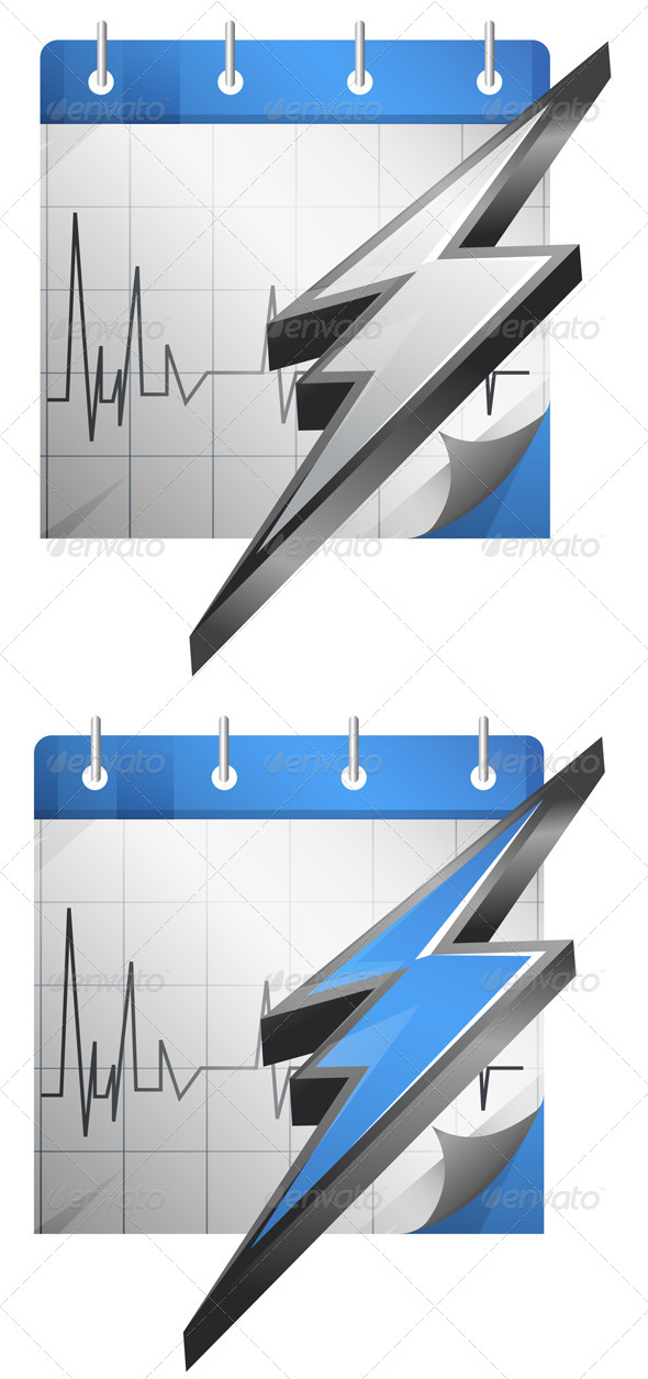 GraphicRiver Charged Up Calender Illustration 7772230